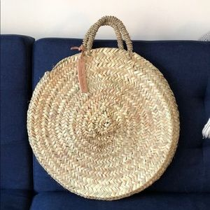Handbags - Boho Woven Straw Tote